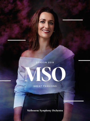 Mso Season 2018 Brochure By Melbourne Symphony Orchestra Issuu