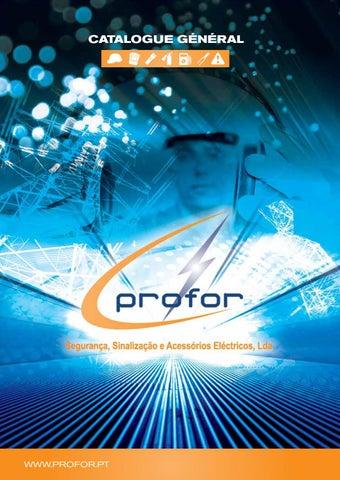 Profor Catalogue General by Profor - Segurança, Sinalização e ... f04a0c651897