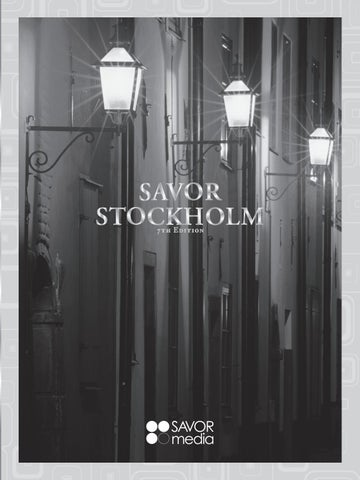 quality design 4446a 1f3a6 Savor Stockholm 2015 by CaGraphic - issuu