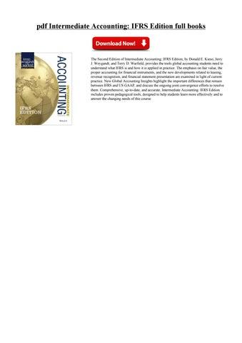 Edition ifrs download free kieso accounting intermediate ebook