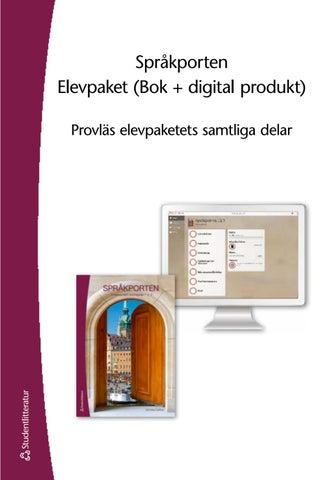 SPRÅKPORTEN 1 2 3 PDF GRATIS