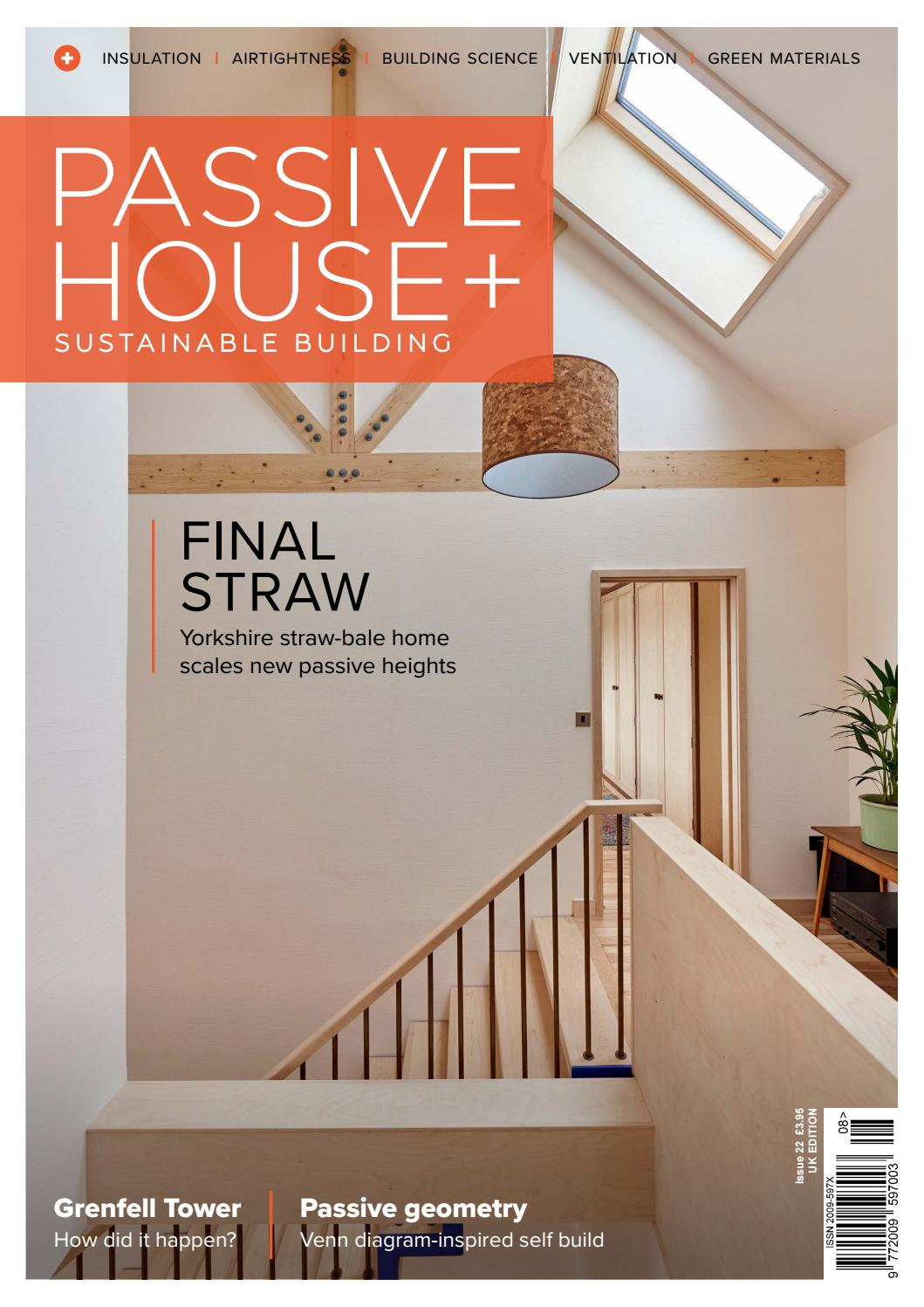 Passive House Plus Issue 22 Uk Edition By Issuu Overhead Crane Wiring Diagram In Addition Solar Panel Regulator Charge