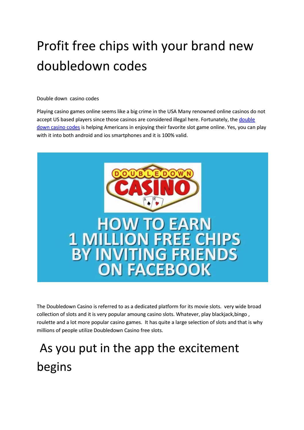 Doubledown Promo Codes