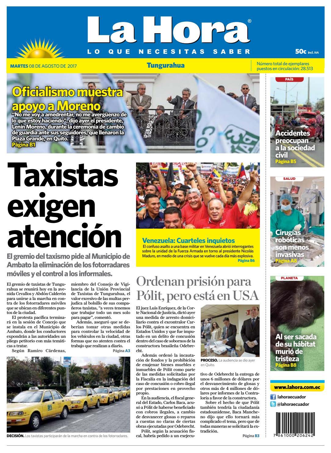 Ambato08agosto2017 by Diario La Hora Ecuador - issuu