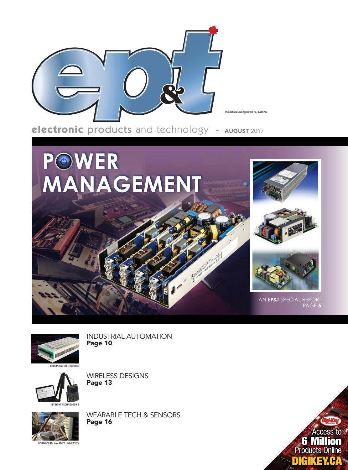Electronic Products and Technology August 2017 by Annex Business