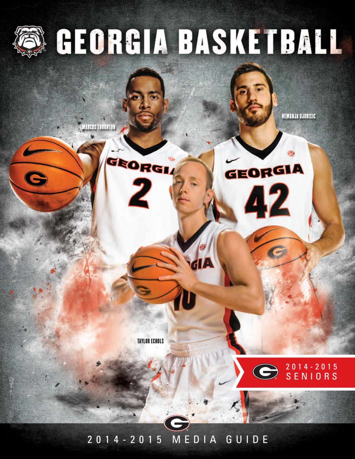online retailer df74e 36fb9 2014-15 Georgia Men s Basketball Media Guide by Georgia Bulldogs Athletics  - issuu