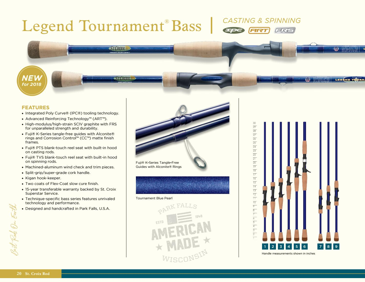 St Croix Rod 2018 Product Guide by St  Croix Rod - issuu