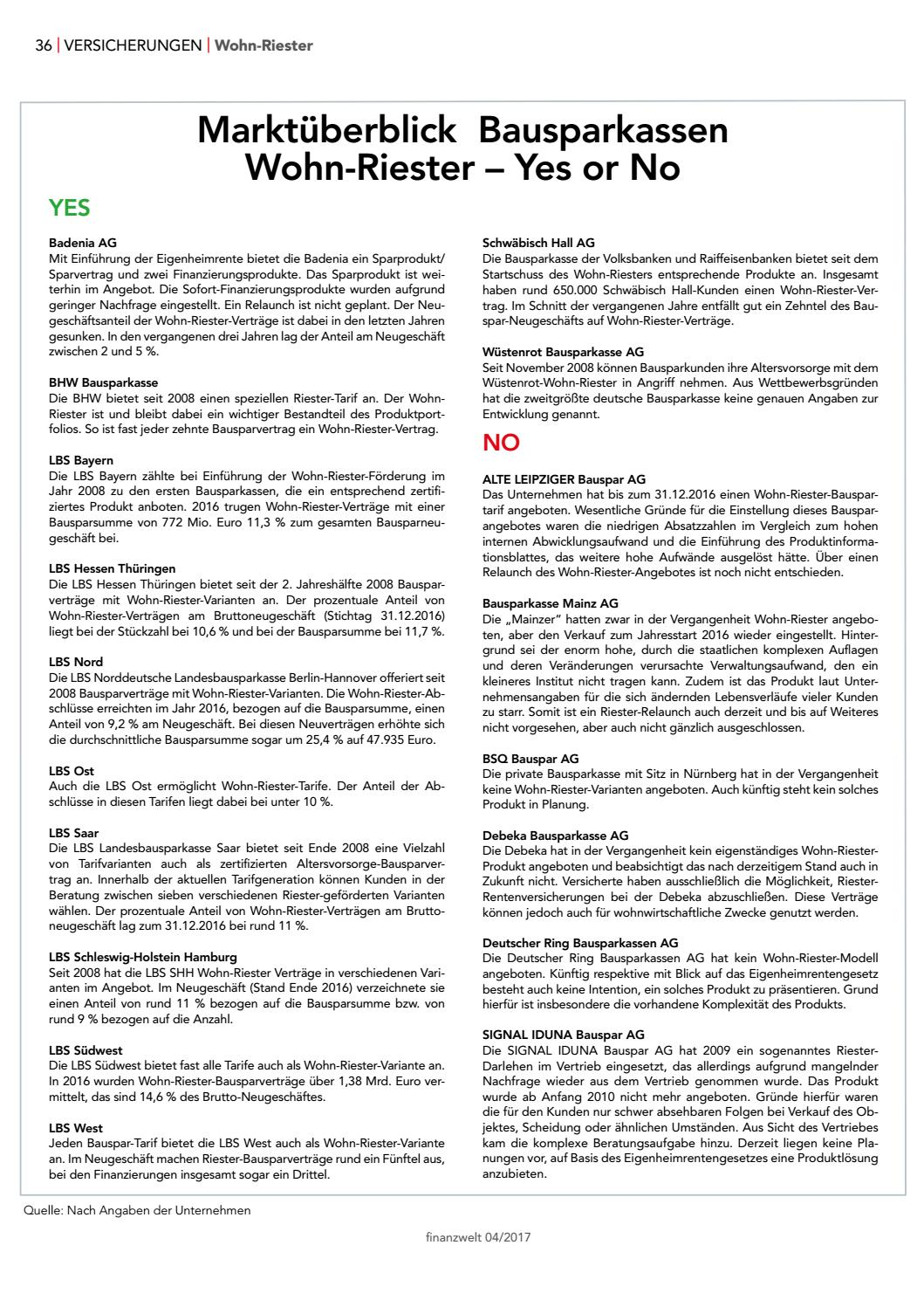Finanzwelt Ausgabe 04 2017 By Finanzwelt Issuu