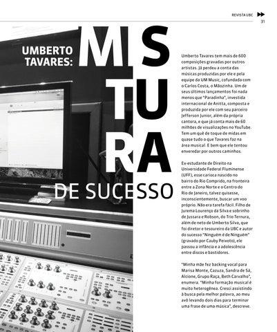 Page 31 of Umberto Tavares: Mistura de Sucesso
