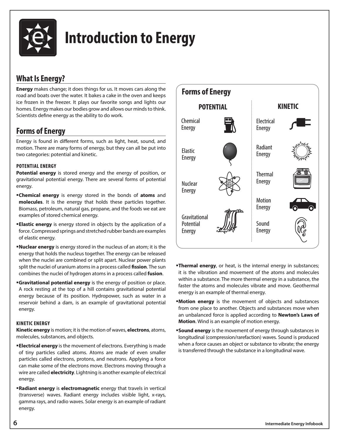 Intermediate Energy Infobook By Need Project Issuu