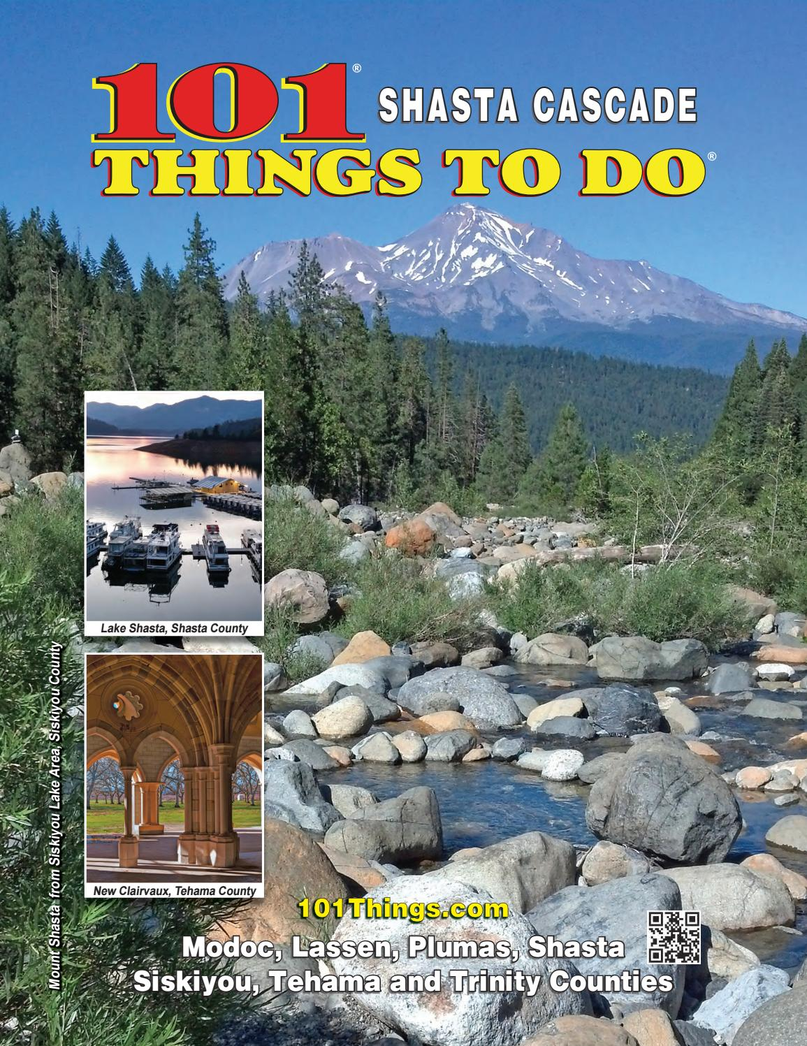 16a95858613 101 Things to Do in Shasta Cascade 2017 by 101 Things To Do ...
