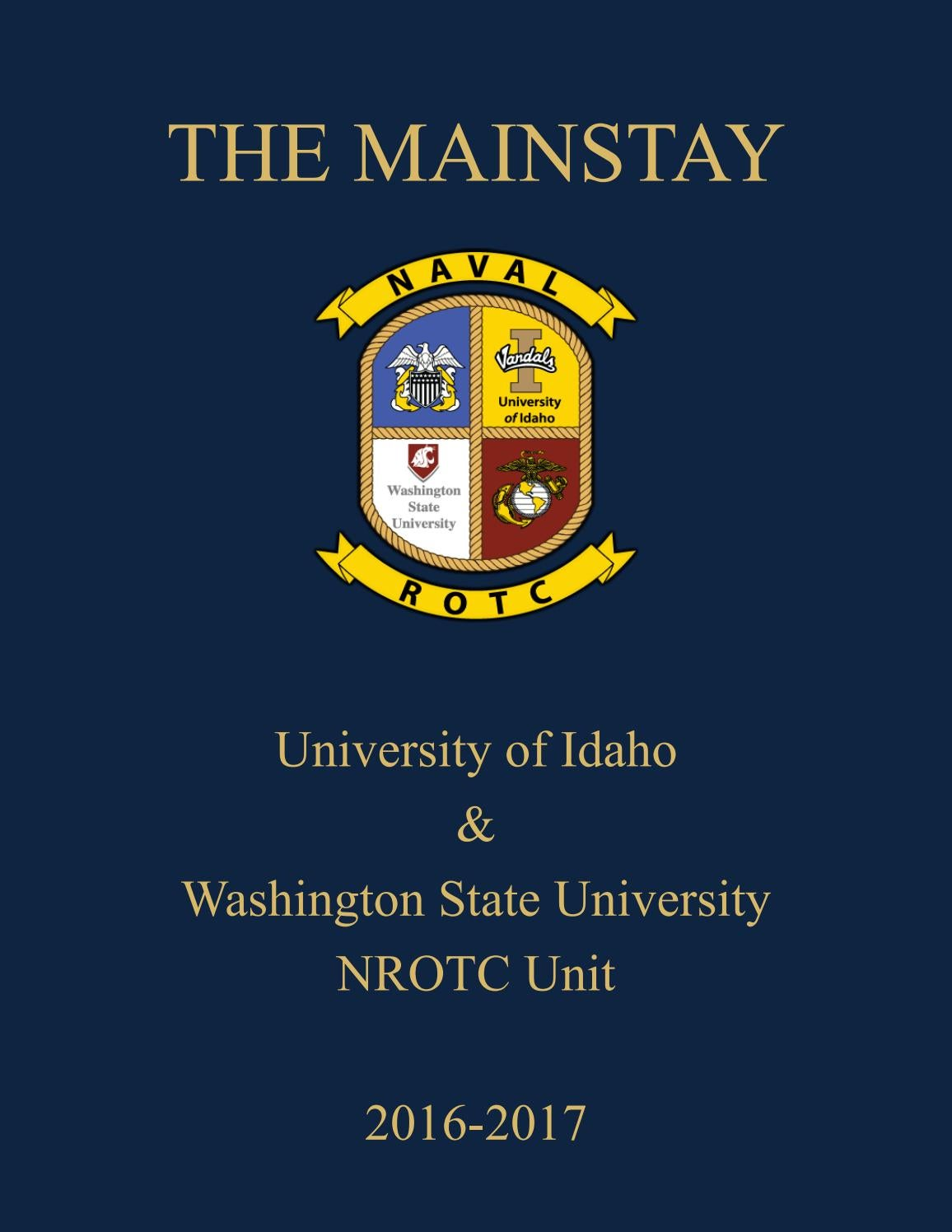 Mainstays Medallion 14 Piece Bath Set With Noodle Rug: Navy ROTC Mainstay 2017 By The University Of Idaho