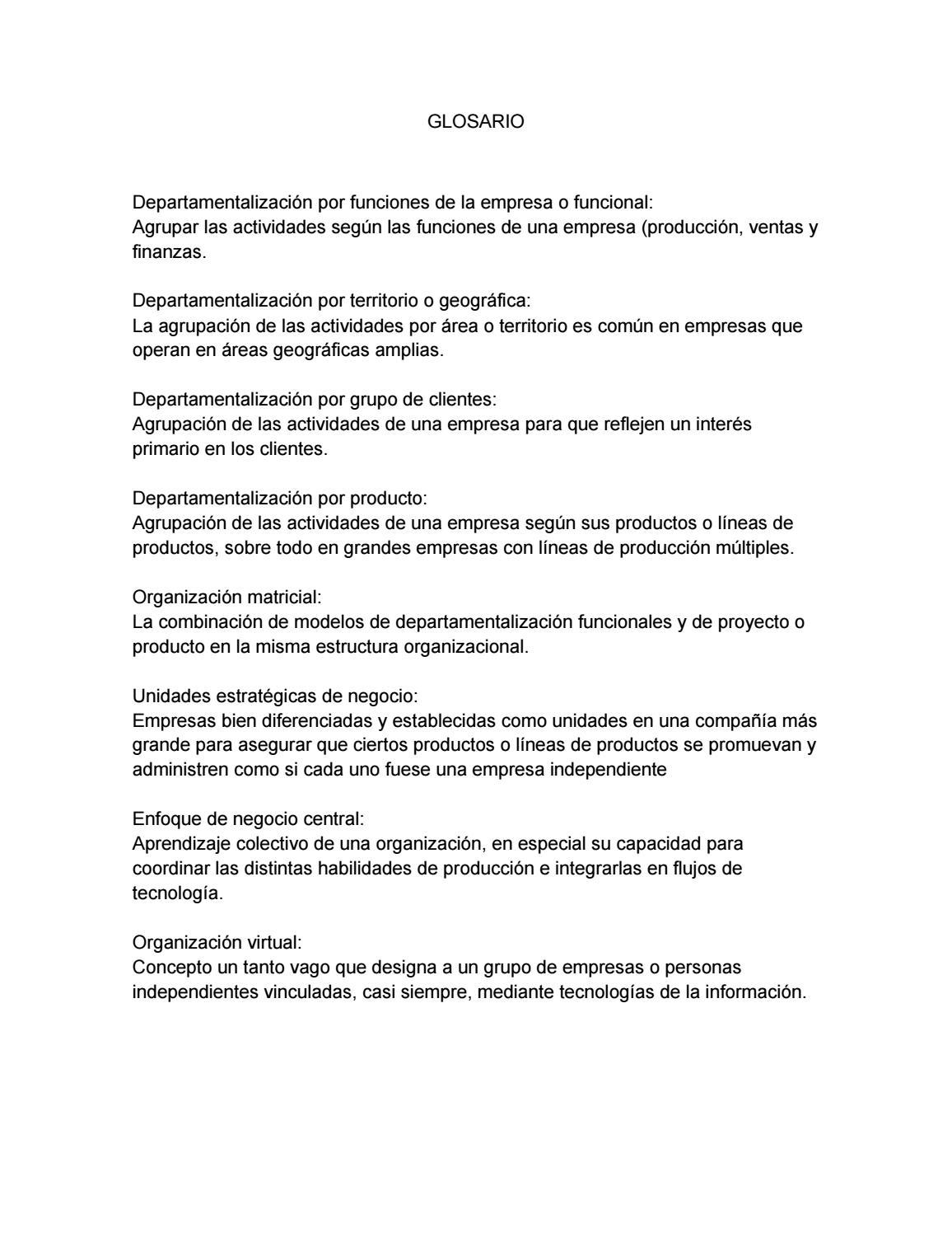 Glosario By Charcuteria La Pradera Issuu