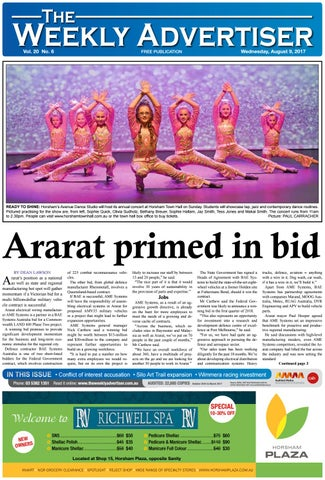 The Weekly Advertiser Wednesday August 9 2017 By The Weekly