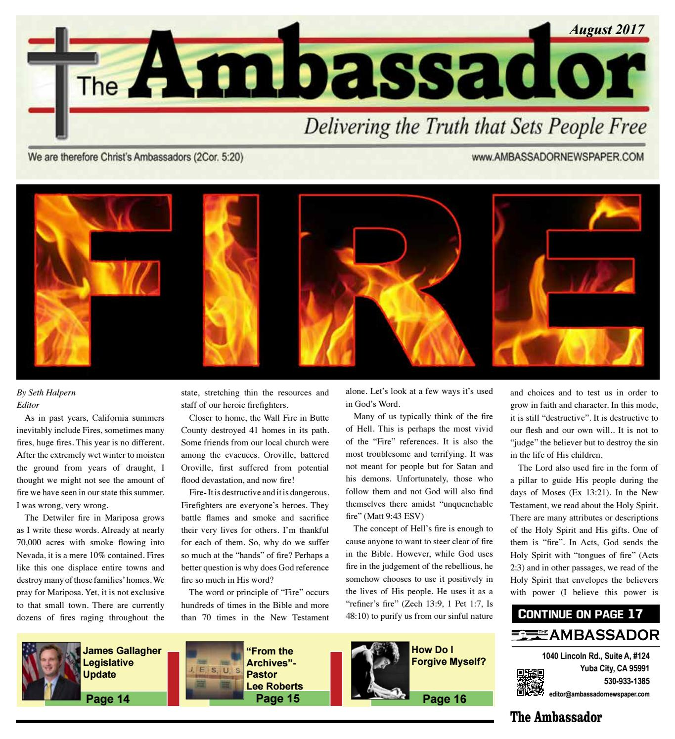 August 2017 ambassador by the ambassador newspaper issuu fandeluxe Image collections