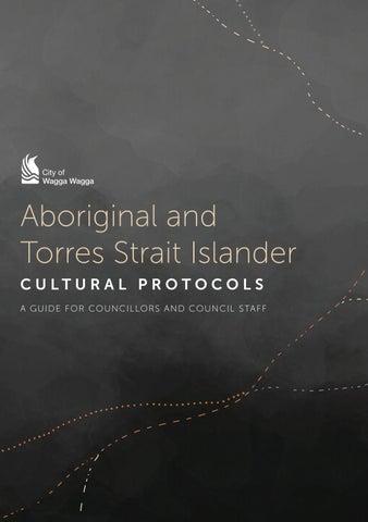 Cultural Protocols by Wagga Wagga City Council - issuu