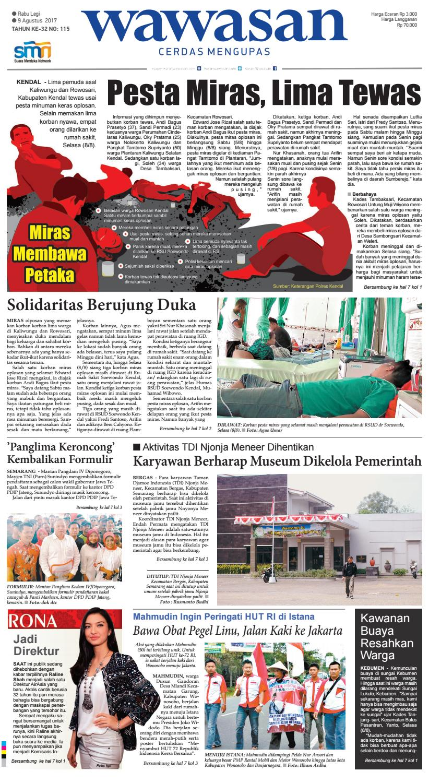 Wawasan 09 Agustus 2017 By Koran Pagi Wawasan Issuu