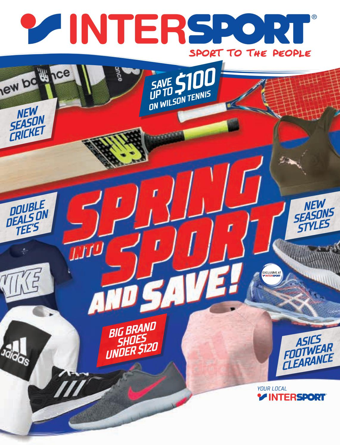 INTERSPORT SPRING CATALOGUE 2017 NC by