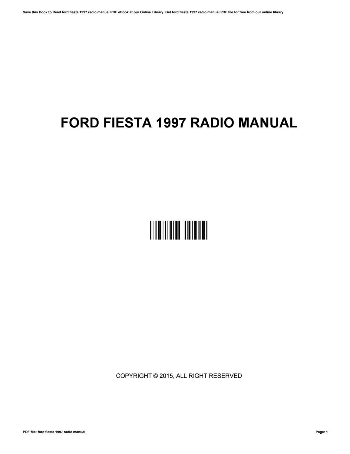 2015 radio manual ebook rh 2015 radio manual ebook ecoflow us