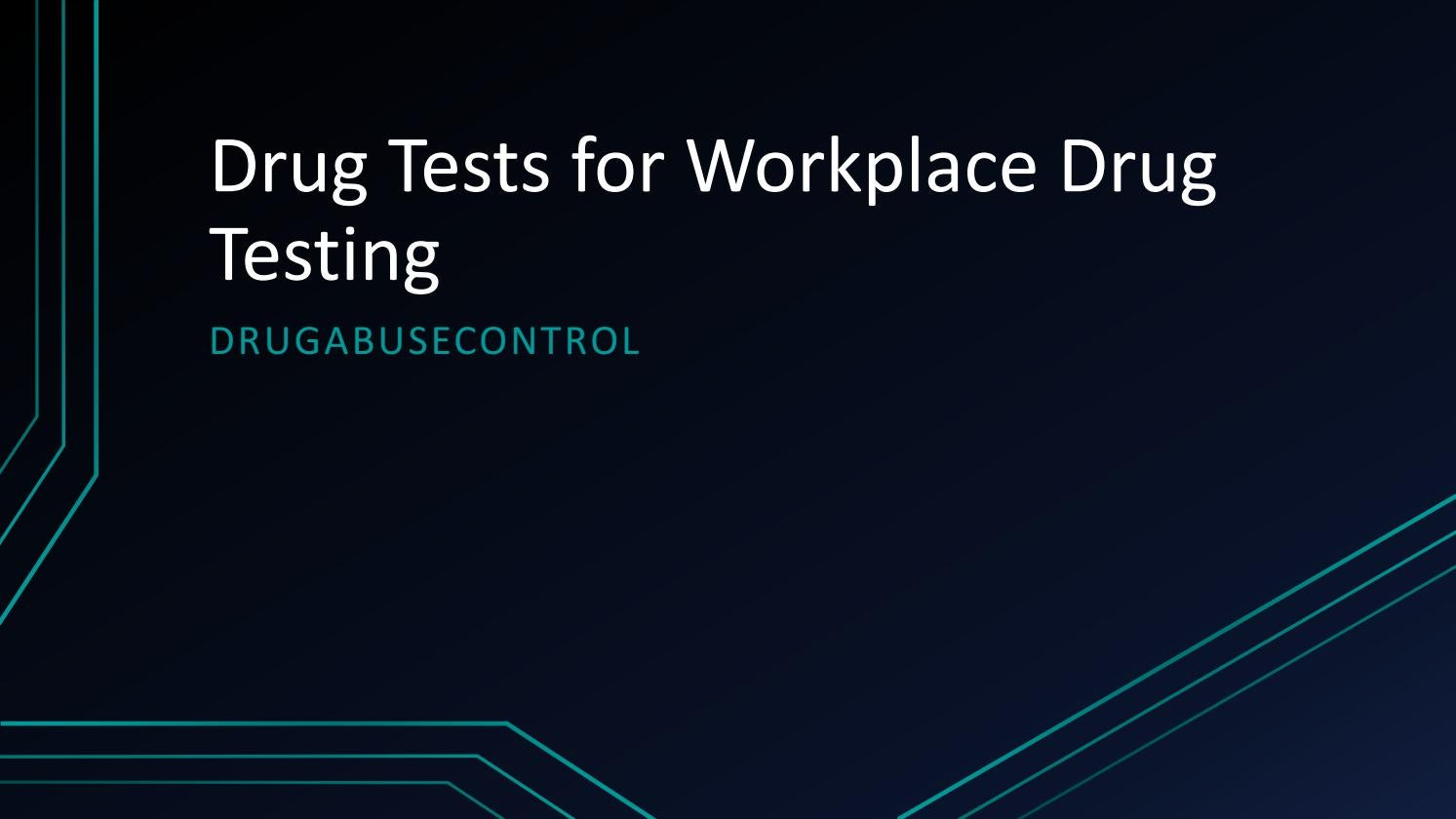 an analysis of the workplace drug testing in the united states An analysis of the workplace drug testing in the united states pages 2 words 959 view full essay more essays like this.