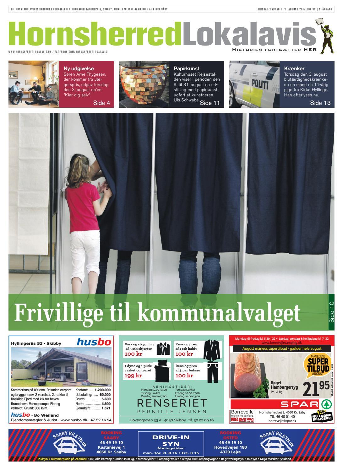 5b69ca109220 Hornsherred lokalavis uge 32 2017 by Hornsherred Lokalavis - issuu