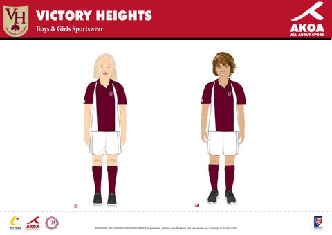 a61fd079a Victory Heights Uniform Sportswear Boys & Girls by Victory Heights ...