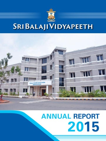 Sbv annual report 2015 by Dept of Medical Informatics - issuu