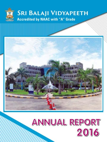 Sbv annual report 2016 by Dept of Medical Informatics - issuu