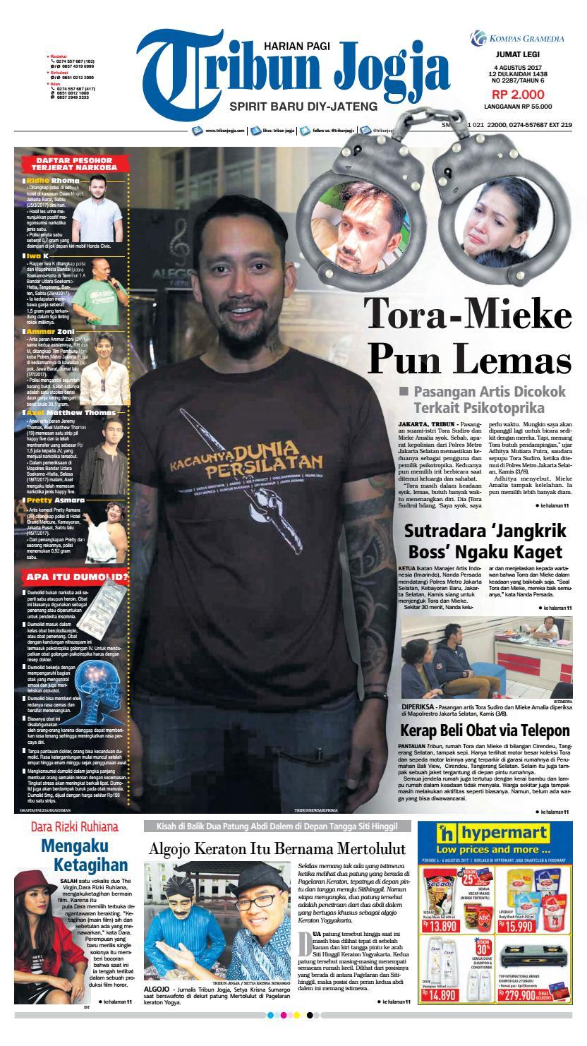 Tribunjogja 04 08 2017 By Tribun Jogja Issuu Snack Gayem Pangsit Bantal Imut Bdg