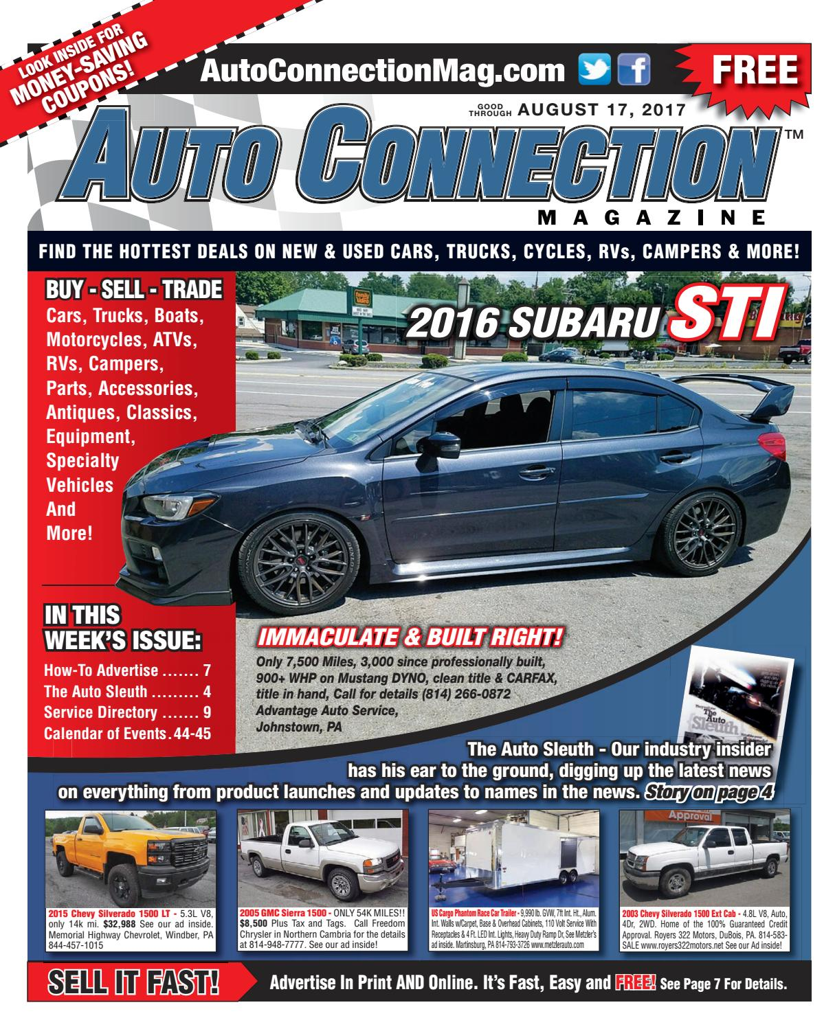 08-17-17 Auto Connection Magazine by Auto Connection Magazine - issuu