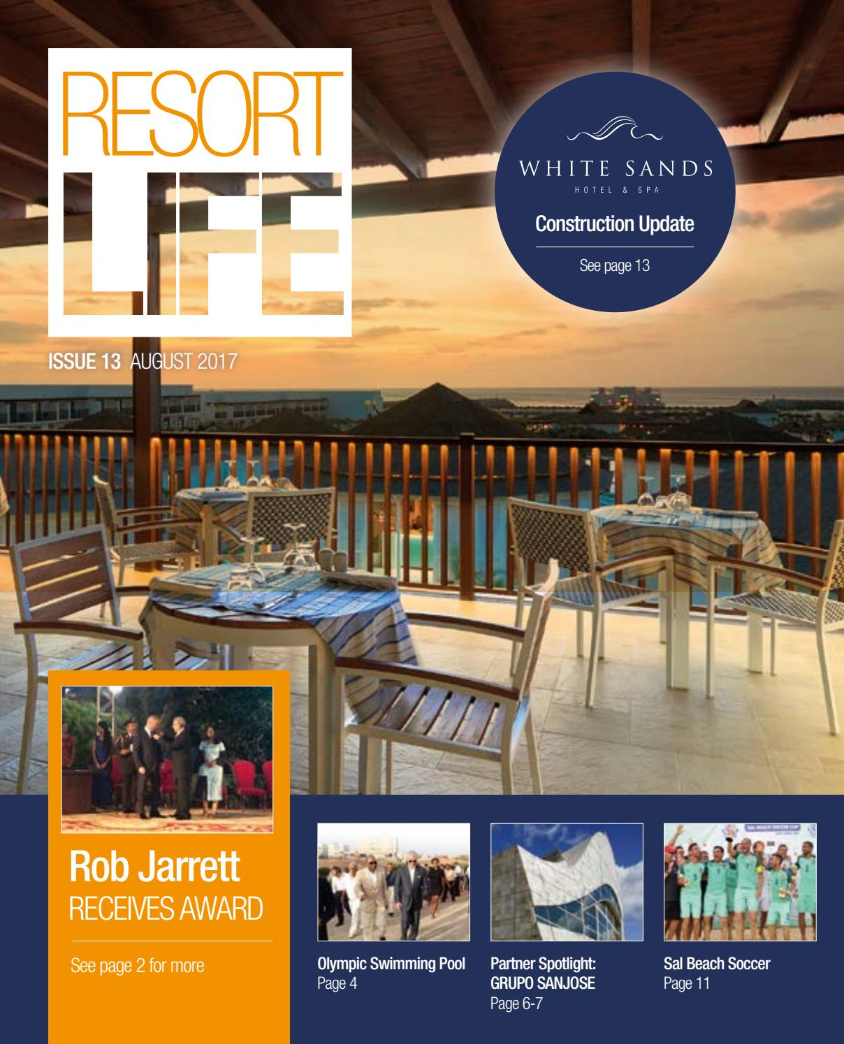 7d70b51d96d Resort Life Issue 13 by The Resort Group plc - issuu