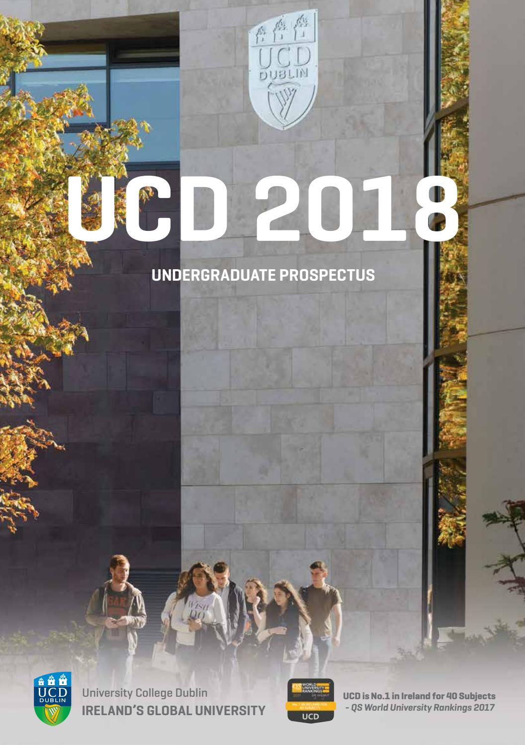 UCD Prospectus 2018 by Rooney Media - issuu