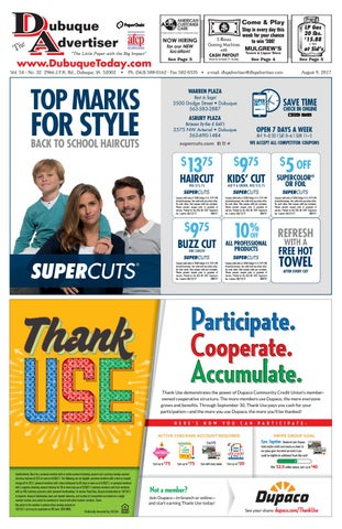 The Dubuque Advertiser August 9 2017 By The Dubuque Advertiser Issuu