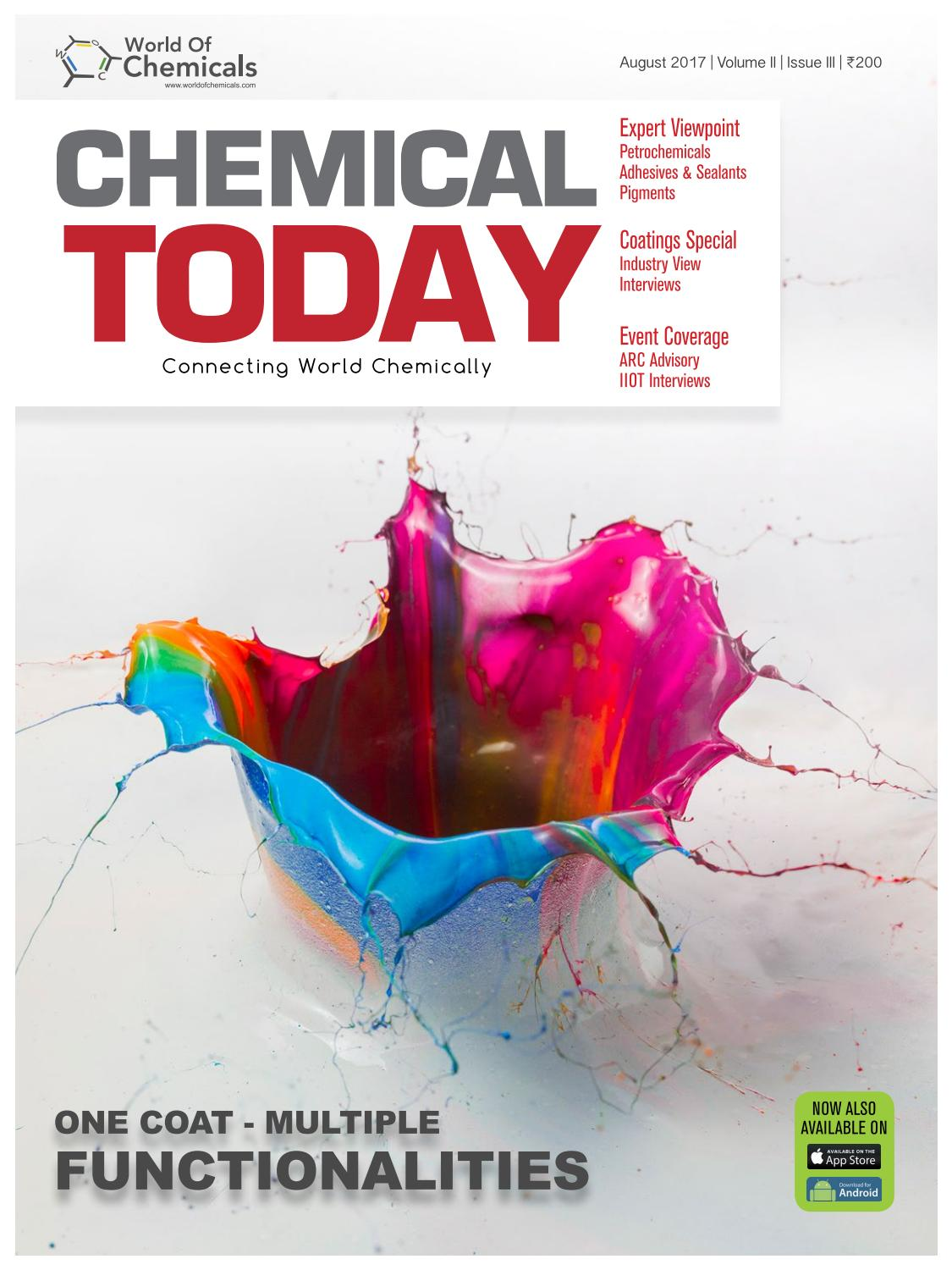 Chemical Today August 2017 By Worldofchemicalscom Issuu Skai Robust Offtheshelf Power Electronics For Emobility