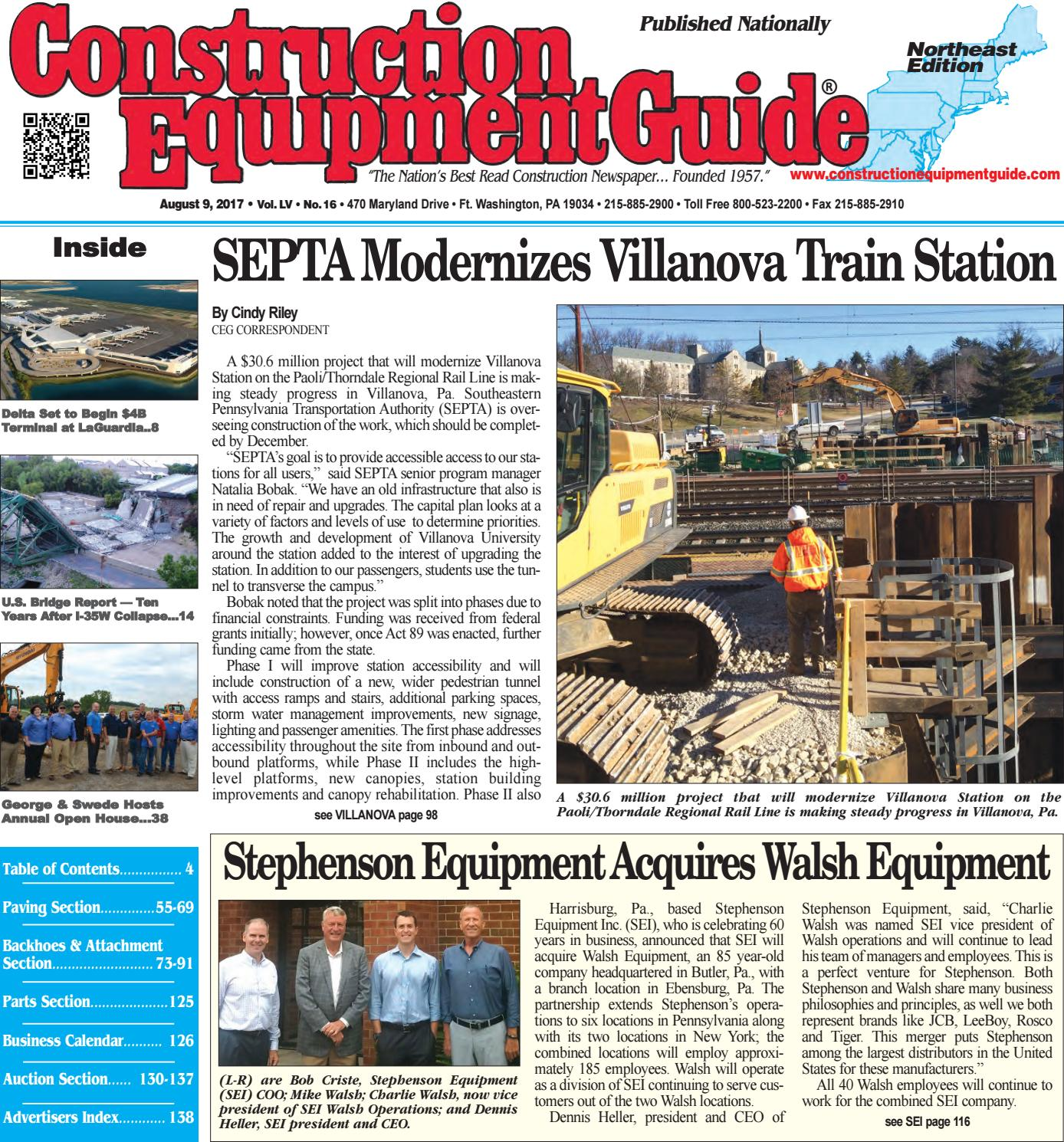 northeast 16 august 9 2017 by construction equipment guide issuu