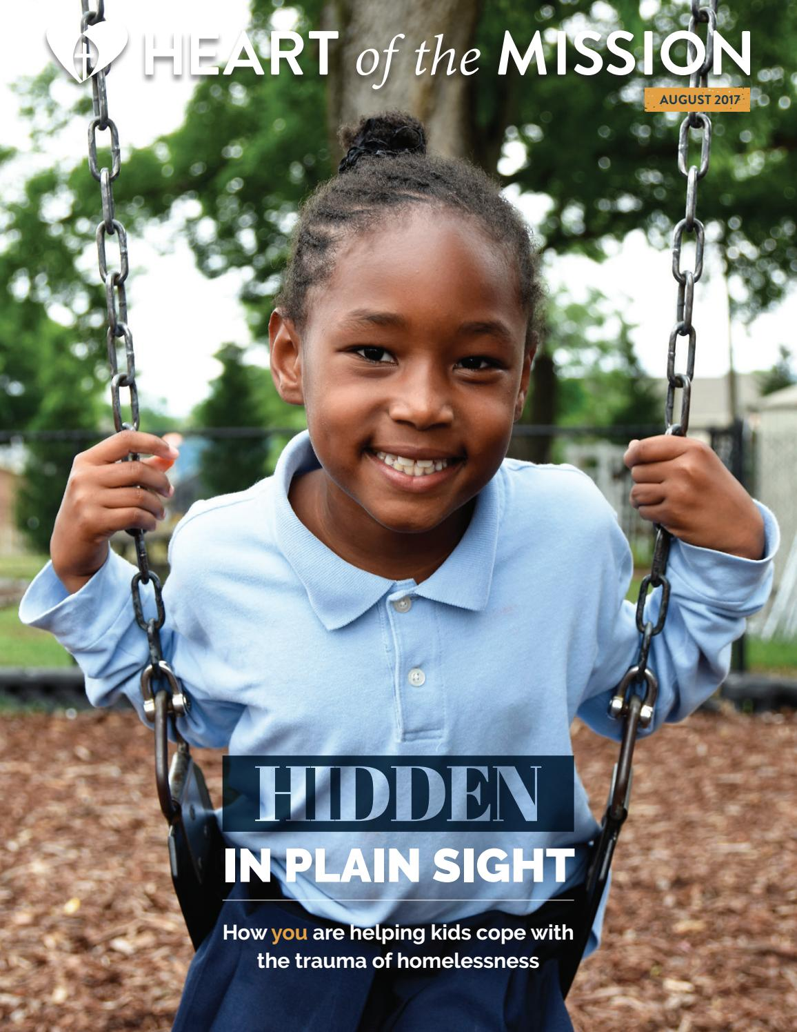 Hidden In Plain Sight Homeless Students >> Nashville Rescue Mission August 2017 Newsletter By Nashville