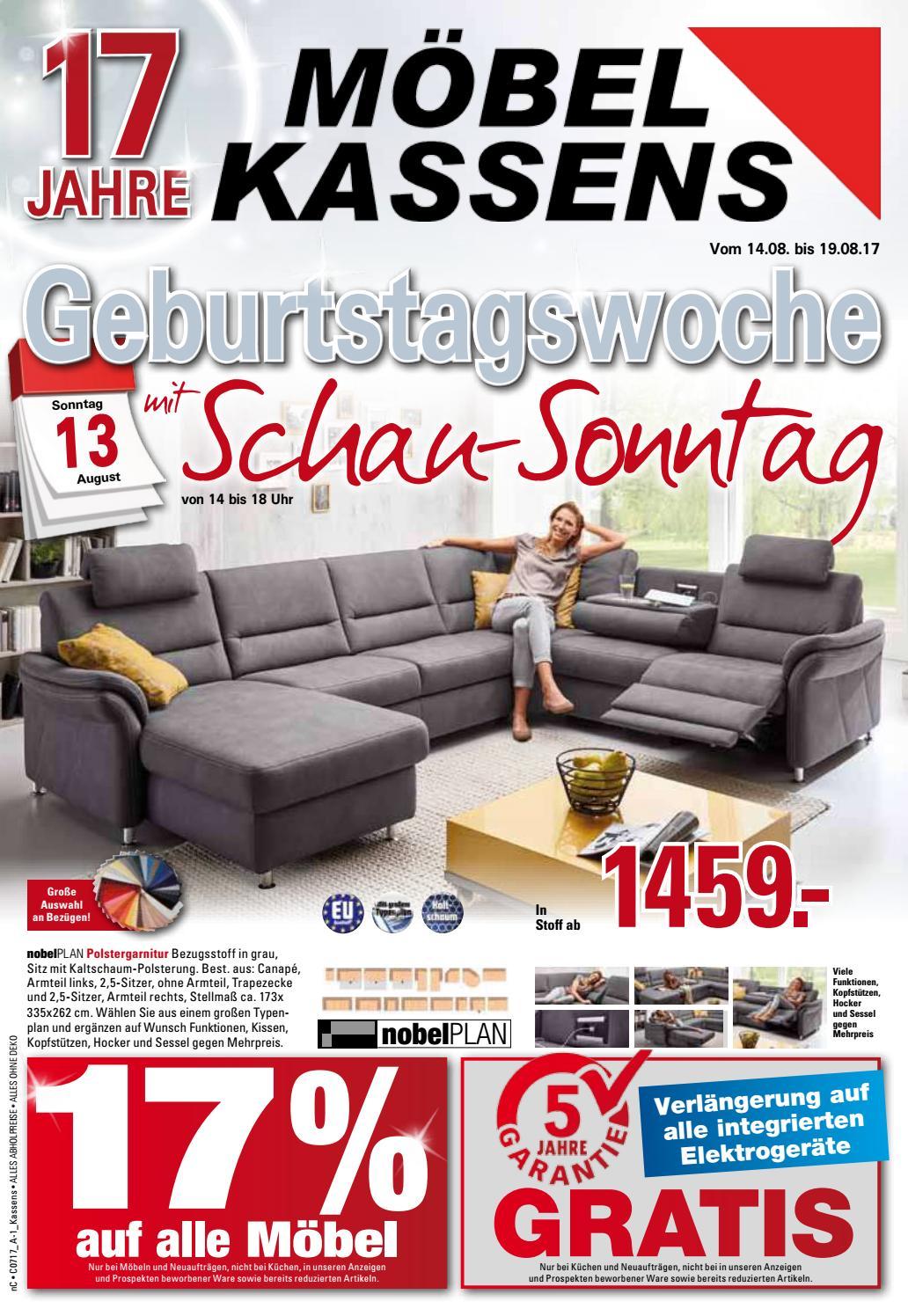 Möbel Kassens - 17 Jahre by Neue Osnabruecker Zeitung - issuu