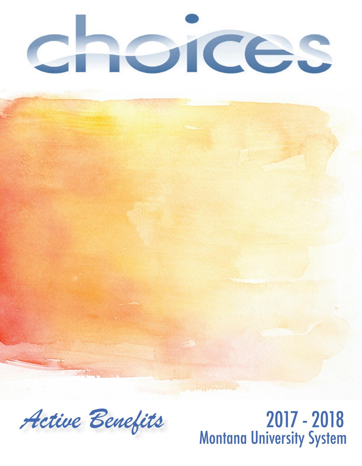 Choices Active Book 2017-18 by Montana State University - issuu