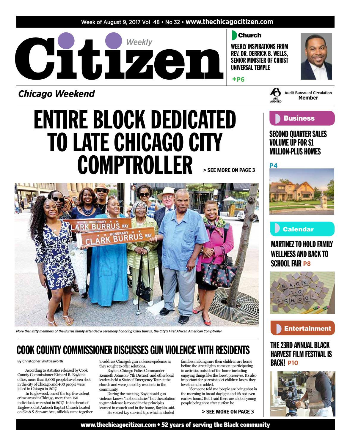 Facing weekend august 9 2017 by CHICAGO CITIZEN NEWSPAPERS