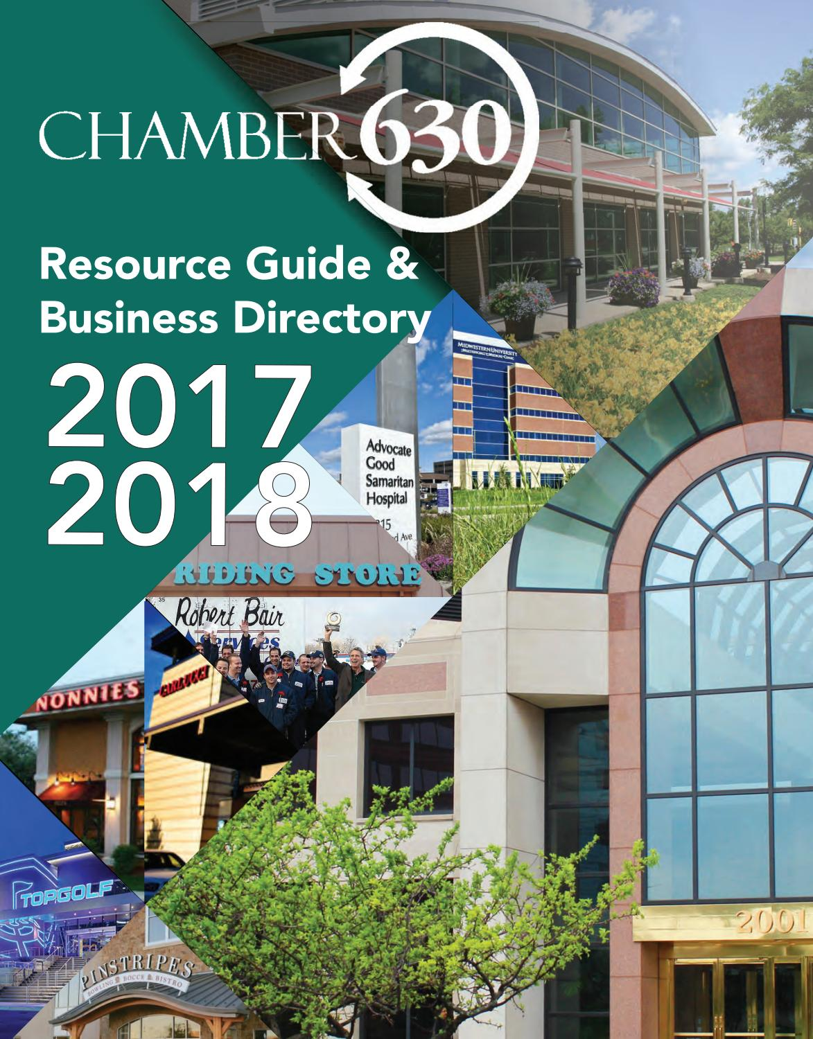 Downers Grove IL Chamber Profile 2017-2018 by Town Square ...