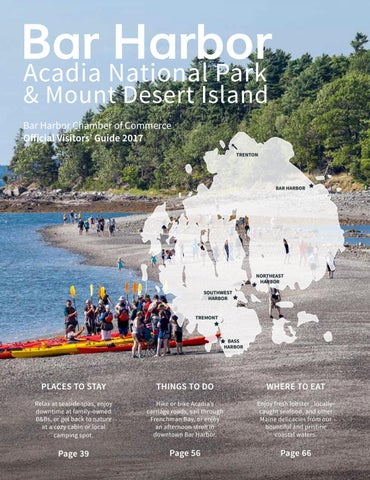 2017 Bar Harbor Visitor Guide By Bar Harbor Chamber Of Commerce Issuu