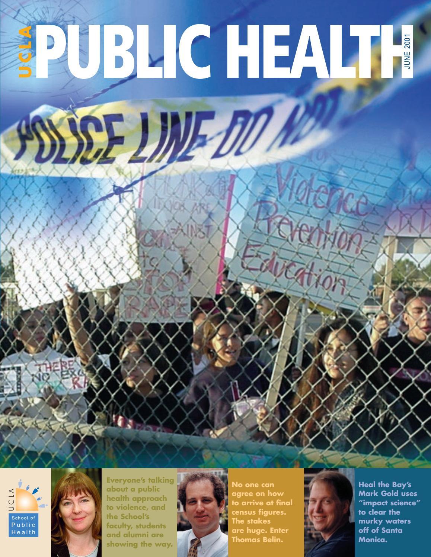 UCLA Public Health Magazine - June 2001 by UCLA Fielding