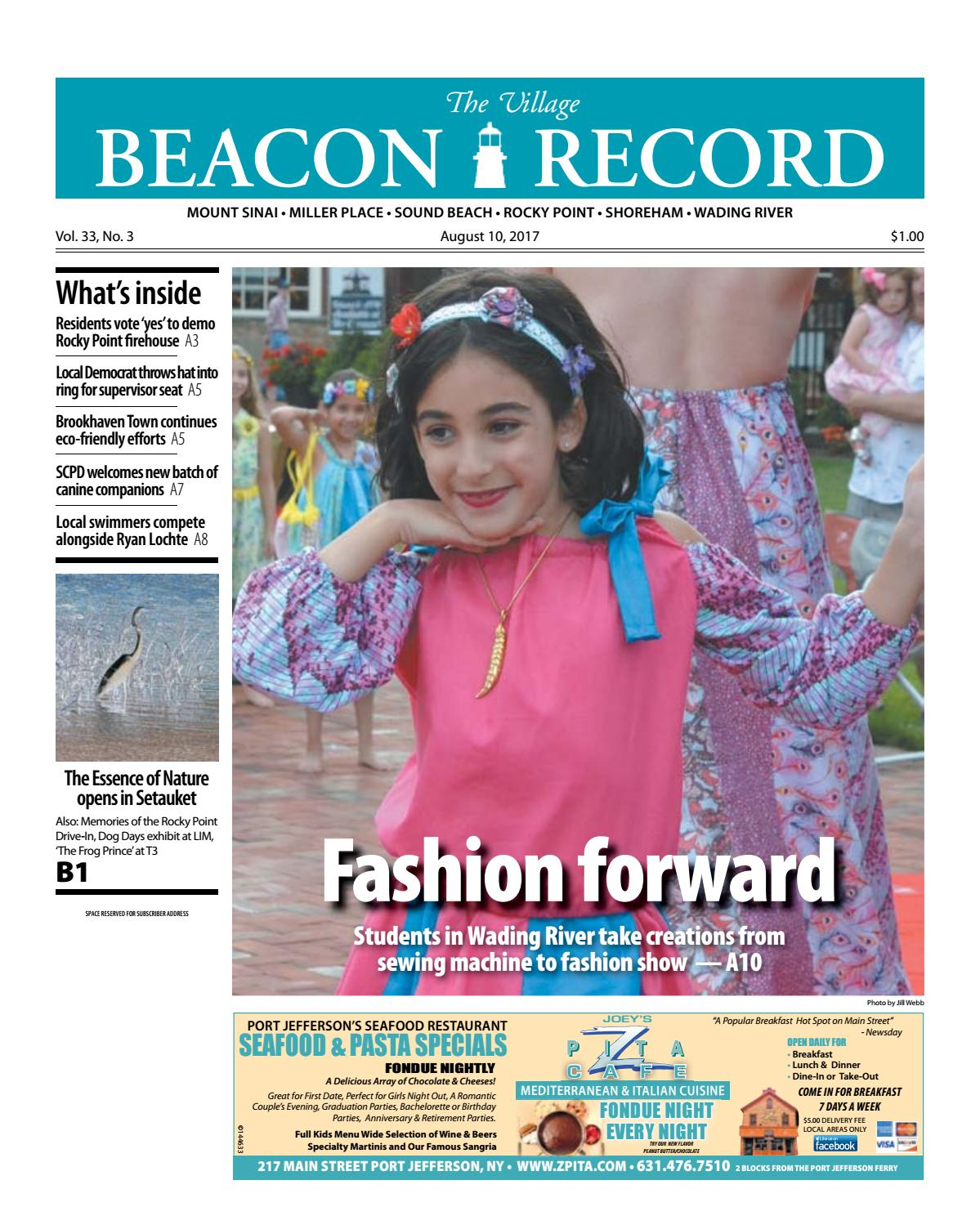 The Village Beacon Record - August 10, 2017 by TBR News Media - issuu