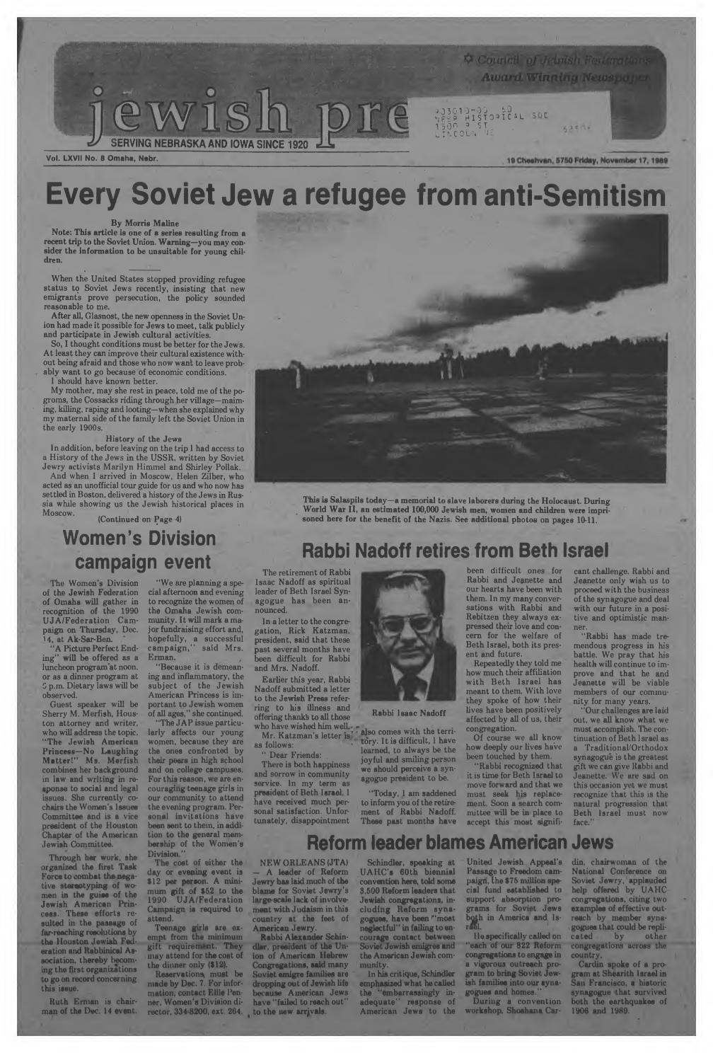 Meyers Chuck AK Jewish Single Men