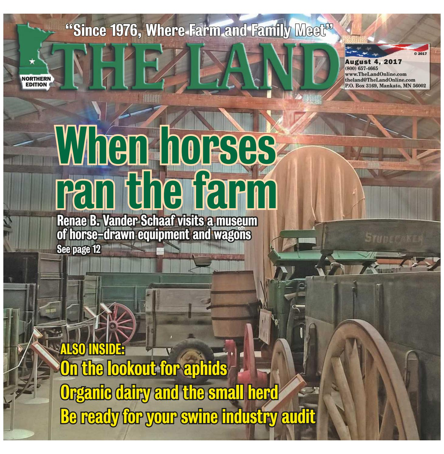 THE LAND ~ August 4, 2017 ~ Northern Edition by The Land - issuu