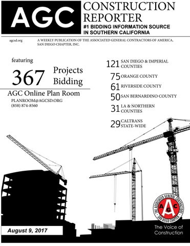 Agc construction reporter august 9 2017 by agc san diego page 1 malvernweather Images