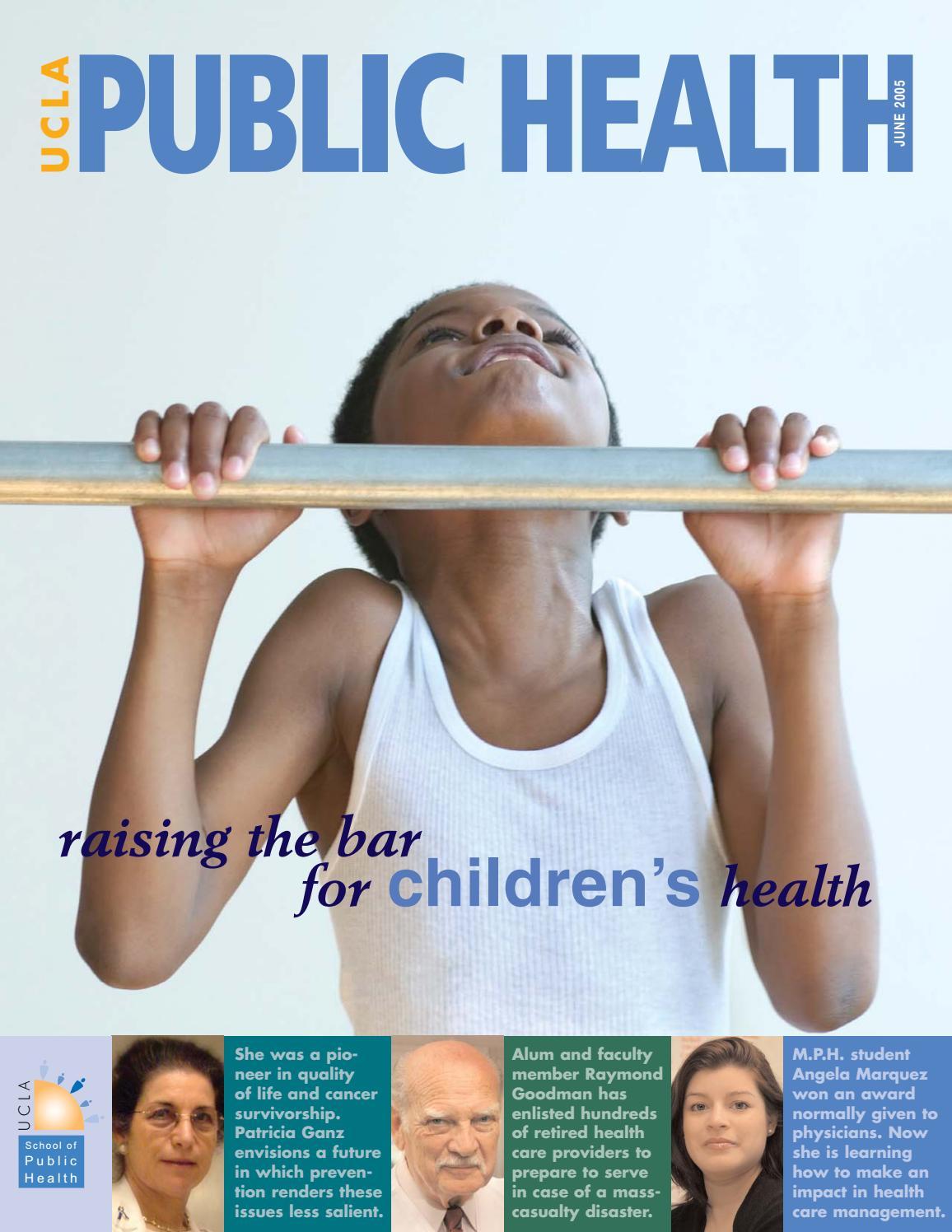 UCLA Public Health Magazine - June 2005 by UCLA Fielding School of