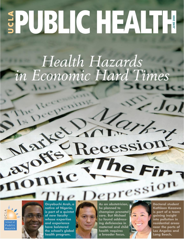 UCLA Public Health Magazine - June 2009 by UCLA Fielding School of