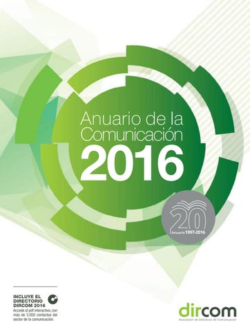 huge selection of f0aeb 6e125 Anuario de la Comunicaciรณn