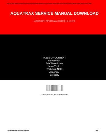 aquatrax service manual open source user manual u2022 rh dramatic varieties com Honda GX340 Service Manual Honda Motorcycle Service Manual PDF